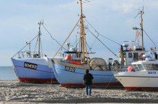 Ships on shore, Northwest Jutland