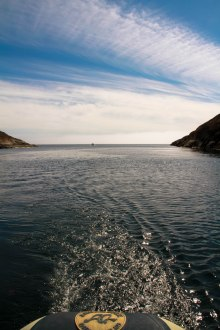 Sailing gives freedom in Nuuk, Greenland