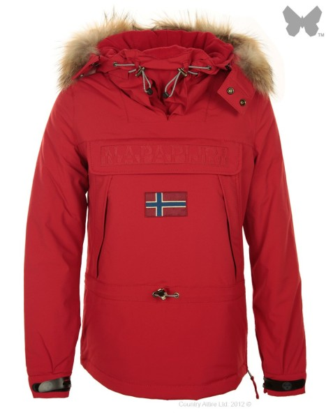 napapijri-ladies-skidoo-jacket-chilli-red