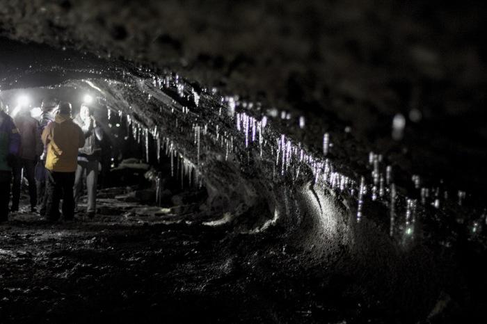 Lava  tunnels.