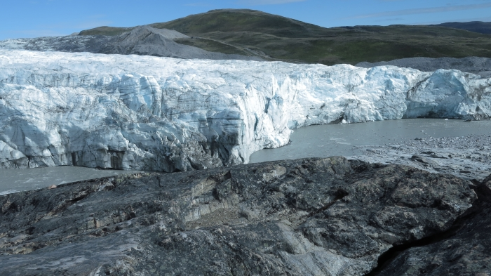 Russell glacier Greenland