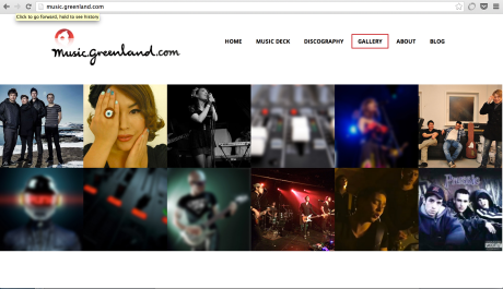 Music greenland website fourth continent