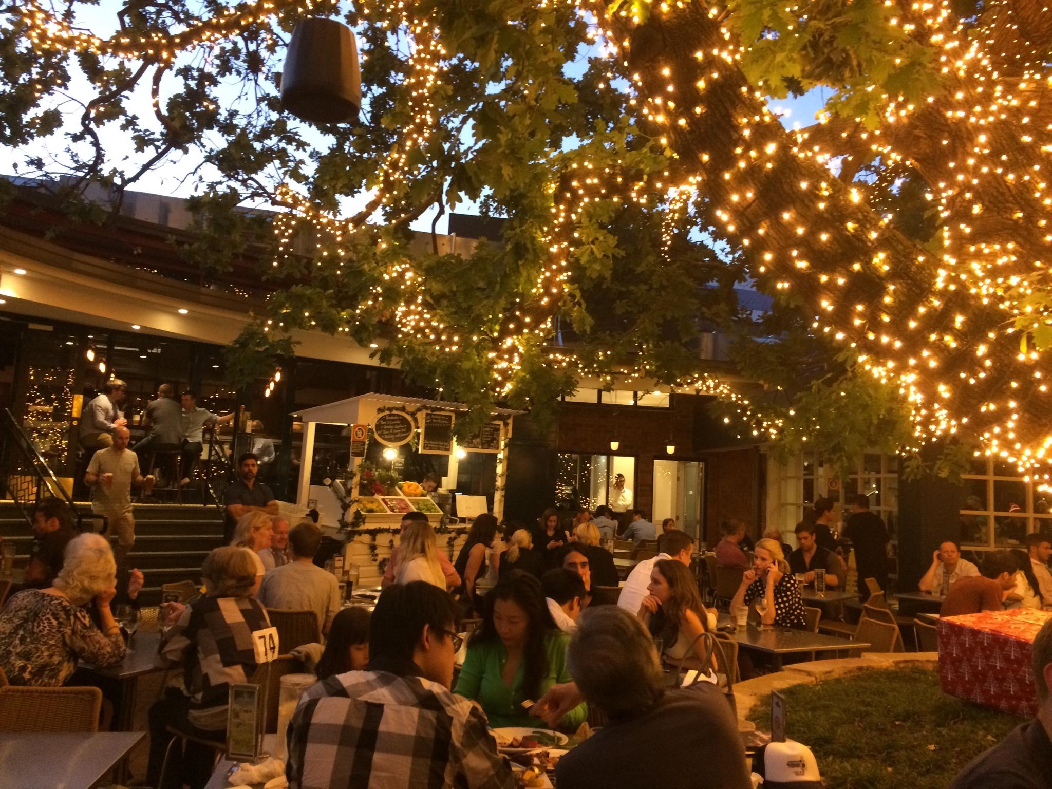 The Oaks beergarden.JPG