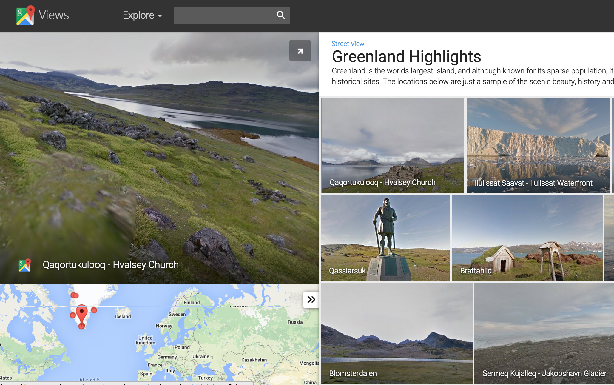 Google Street View Reaches Greenland The Fourth Continent - Why is greenland not a continent