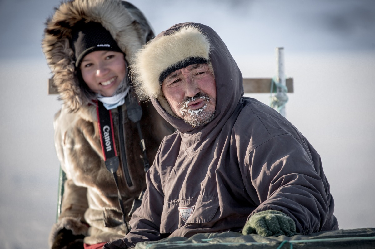 Excerpts from a Greenland dog sled ride