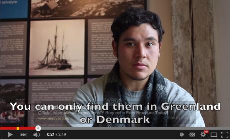 Paul Barbato - speaking Greenlandic!