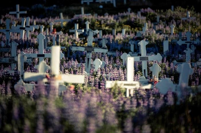 Graveyard in Qaqortoq