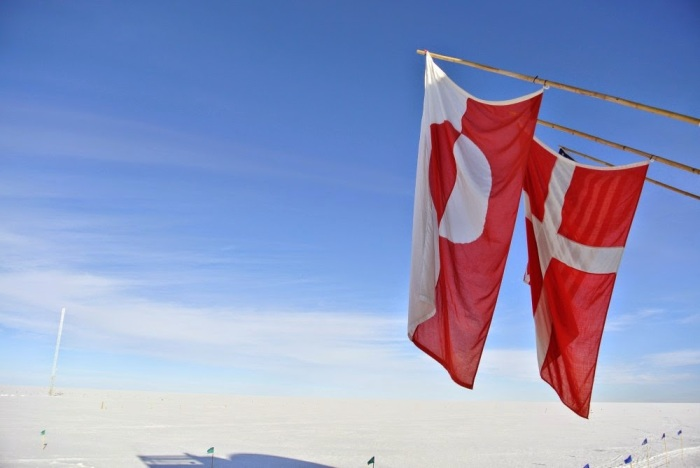 greenland danish flags