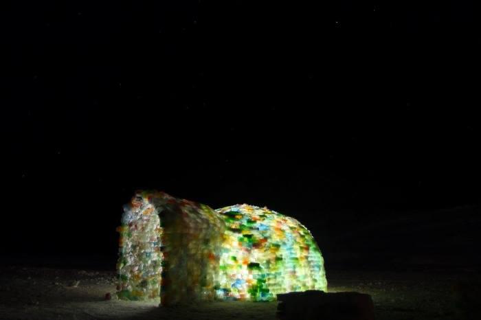 sisimiut - rainbow igloo-night-nuka kristiansen
