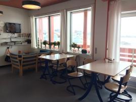 Greenland hospital birth K3 canteen